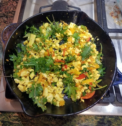 Cooked scramble